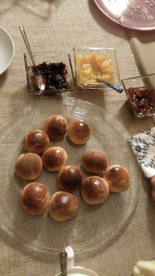 Włoskie bułeczki mleczne Panini al Latte