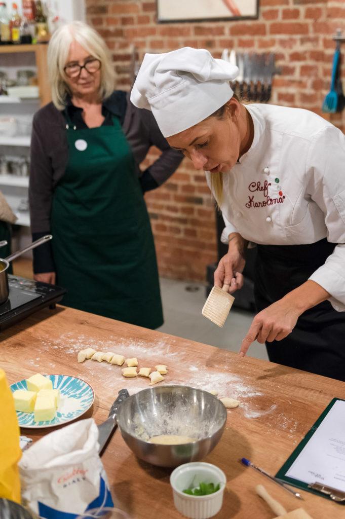 Przygotowanie gnocchi / photo by Dawid Lenart