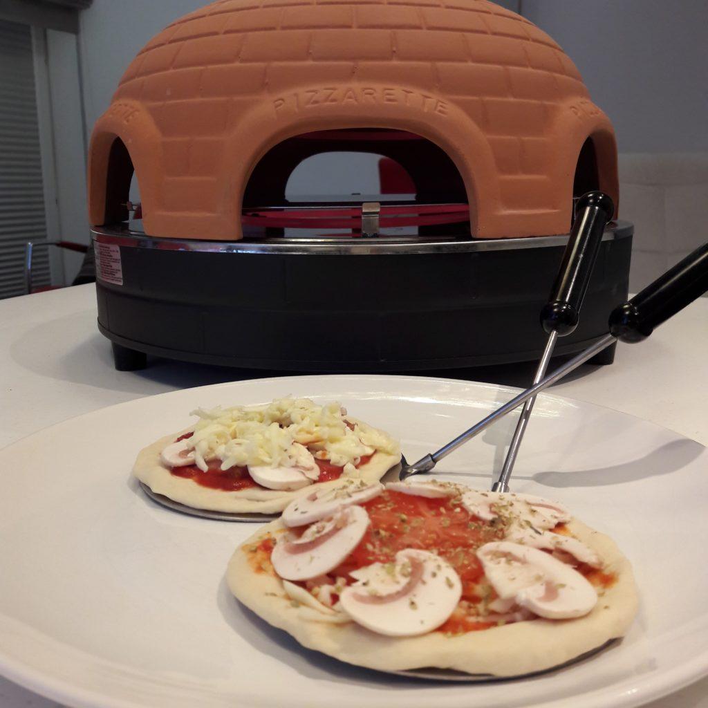 Warsztaty z mini pizzy.