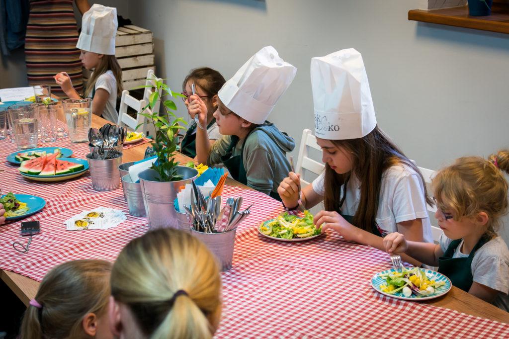 Warsztaty kulinarne dla dzieci.