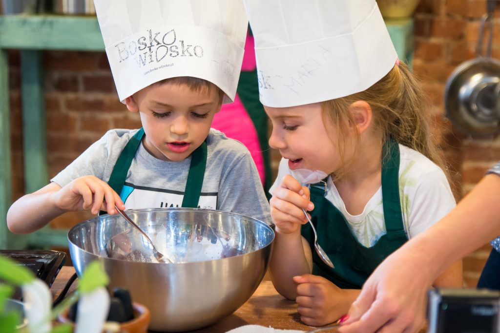 Urodziny dziecka z kuchnią włoską.