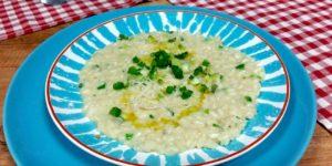 Risotto z gorgonzolą i szczypiorkiem